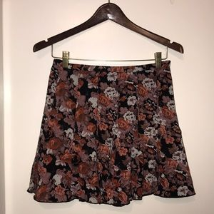 Urban Outfitters summer/fall floral skirt!